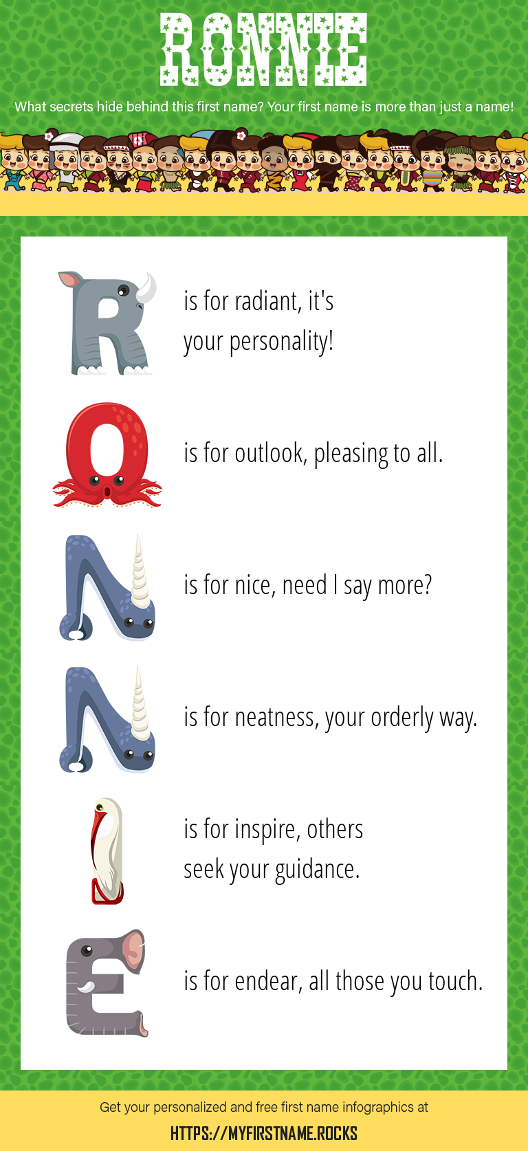 Ronnie Infographics