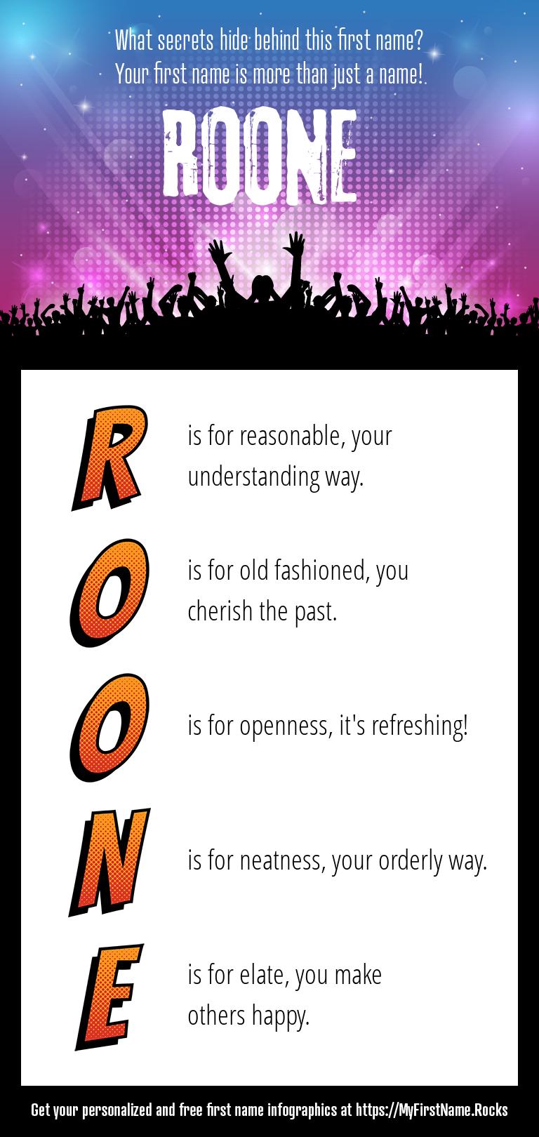 Roone Infographics