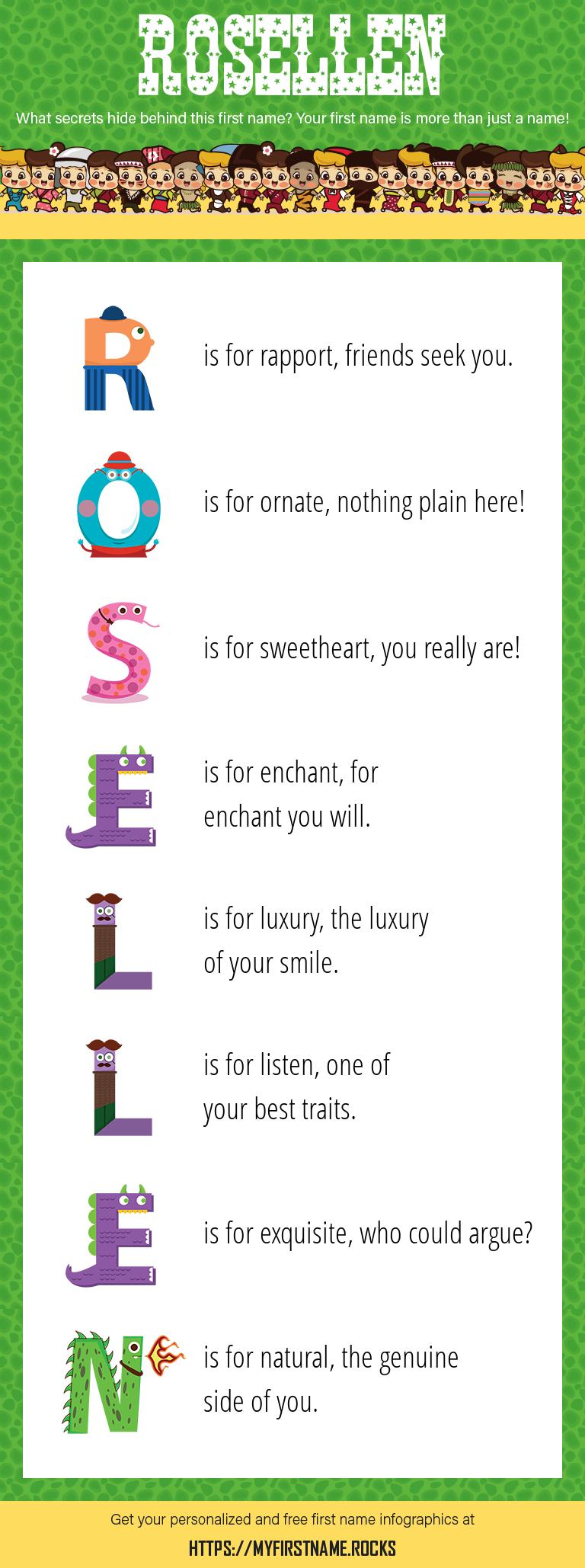 Rosellen Infographics