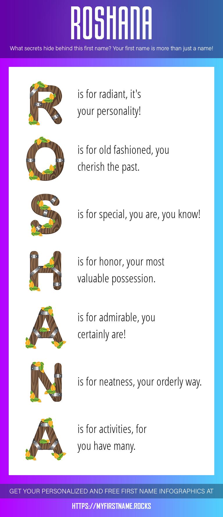 Roshana Infographics