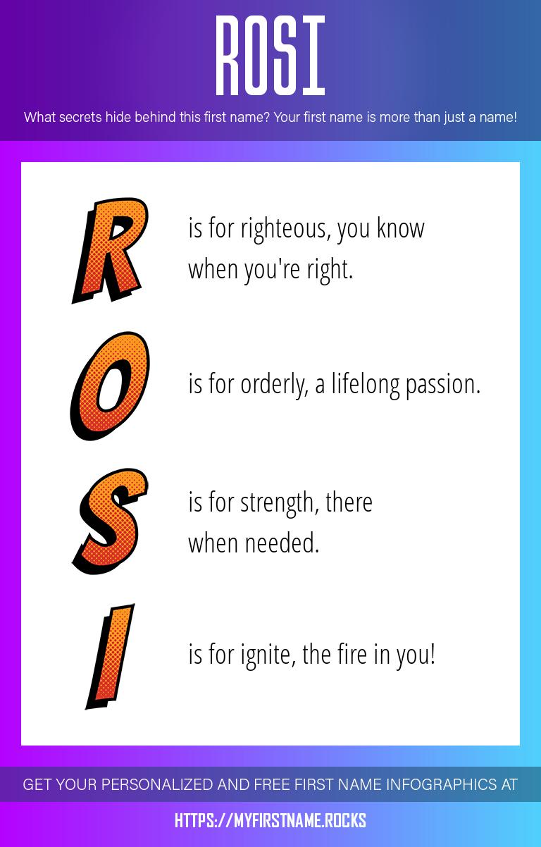 Rosi Infographics
