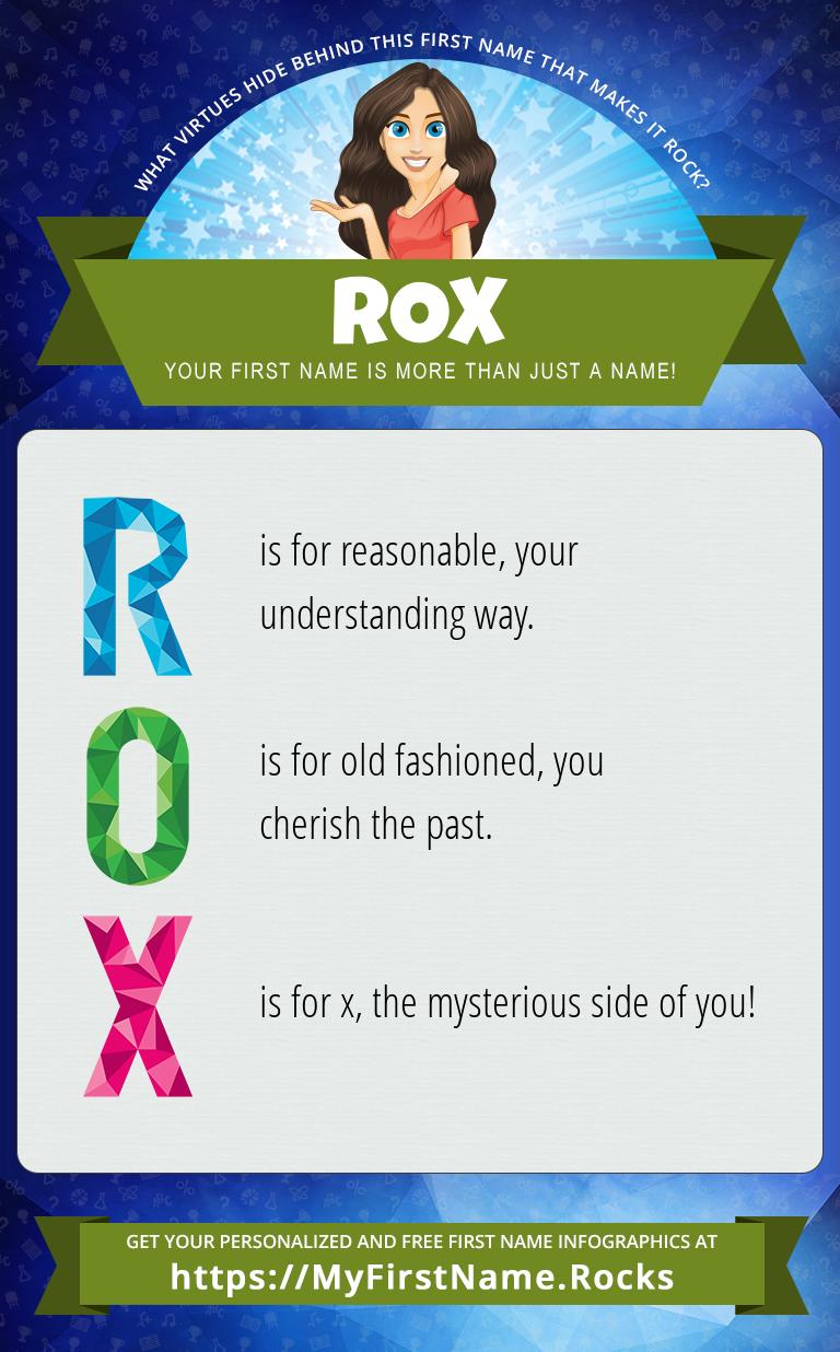 Rox Infographics