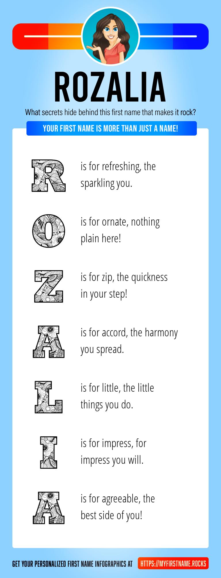 Rozalia Infographics