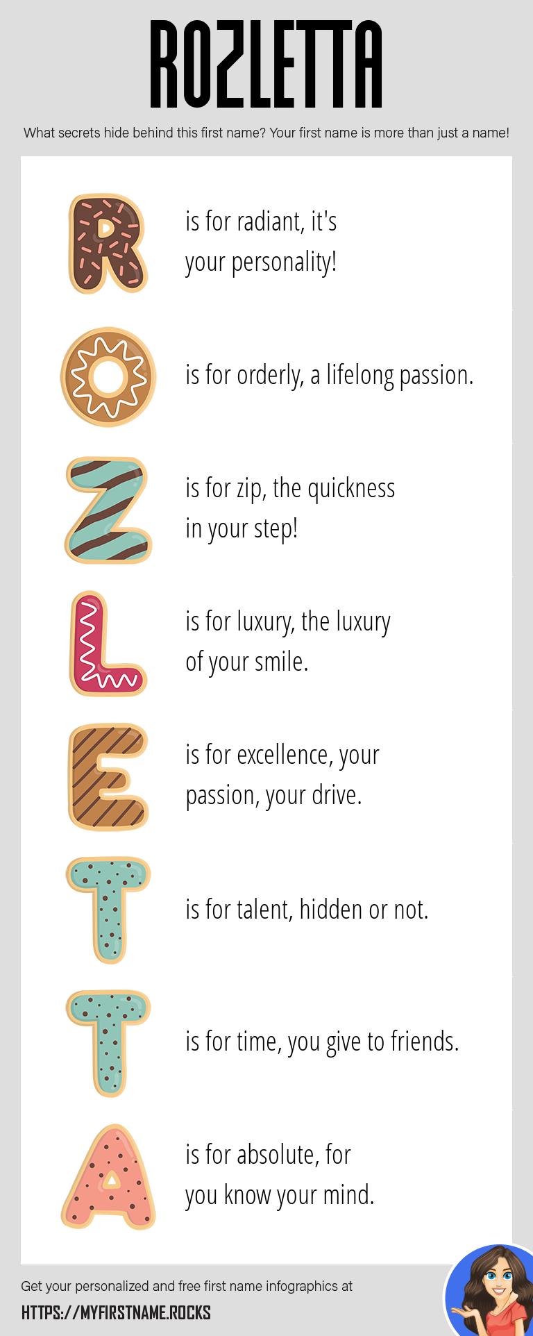 Rozletta Infographics