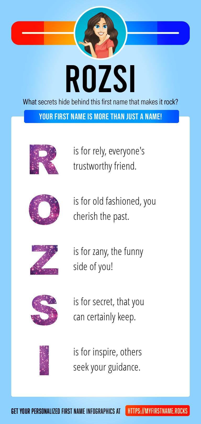 Rozsi Infographics