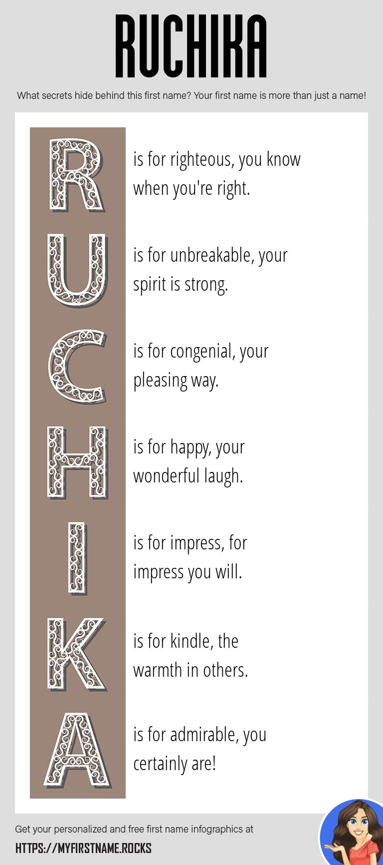Ruchika Infographics