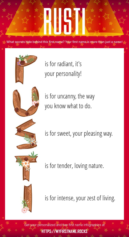 Rusti Infographics