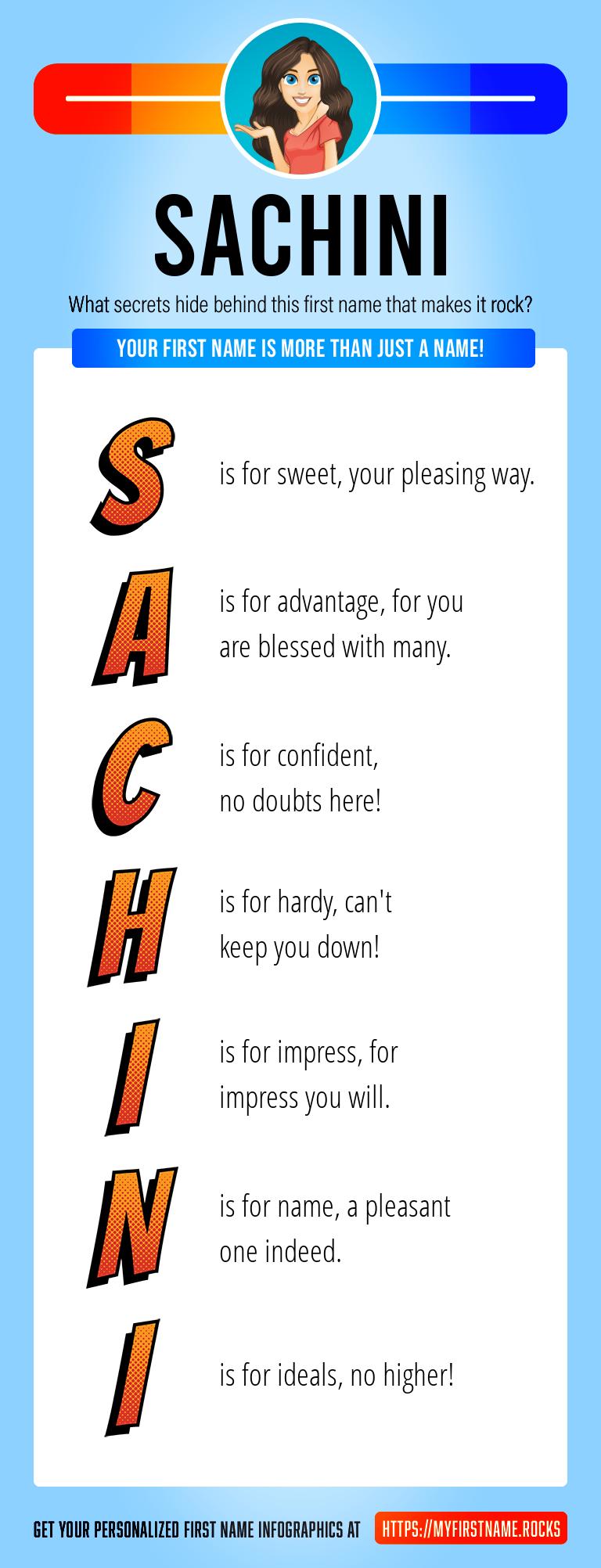 Sachini Infographics