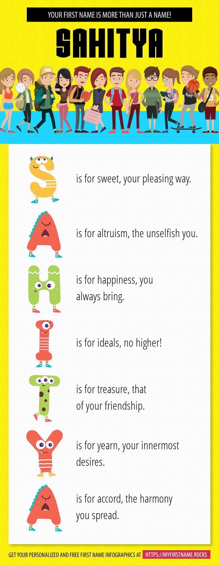 Sahitya Infographics