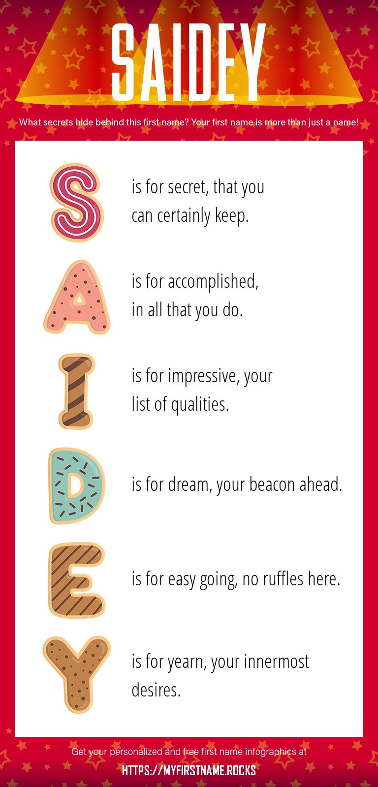 Saidey Infographics