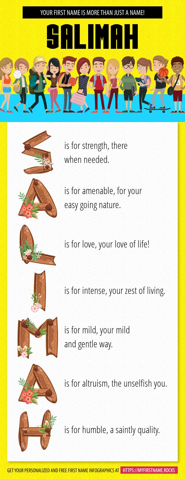 Salimah Infographics
