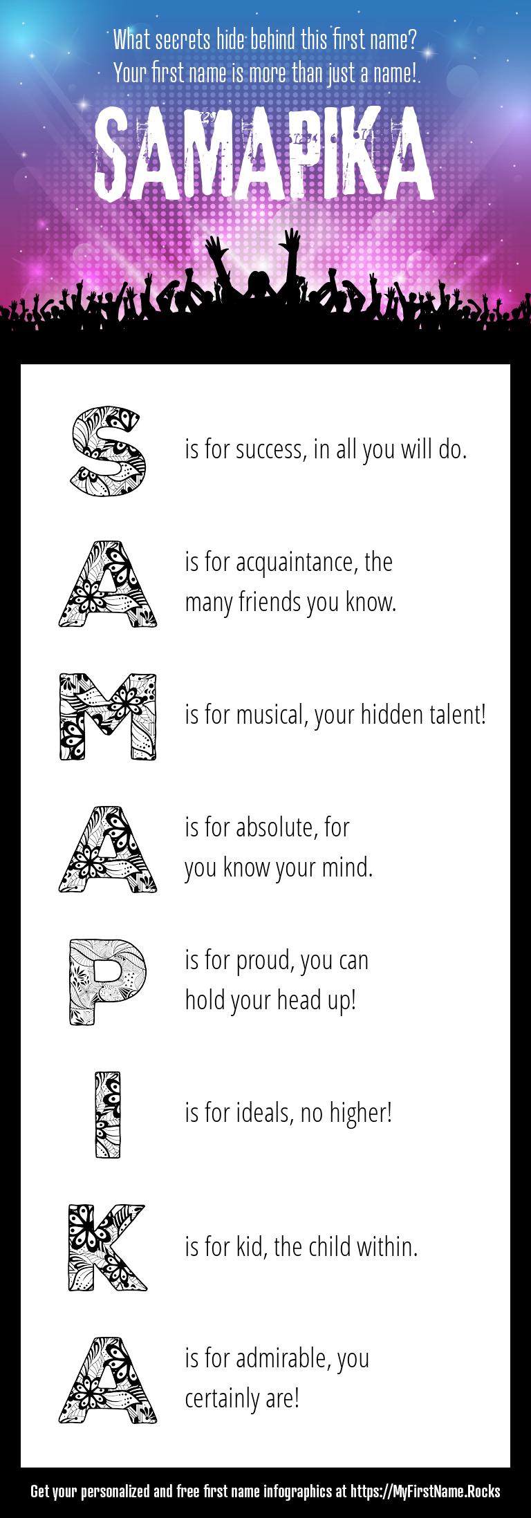 Samapika Infographics