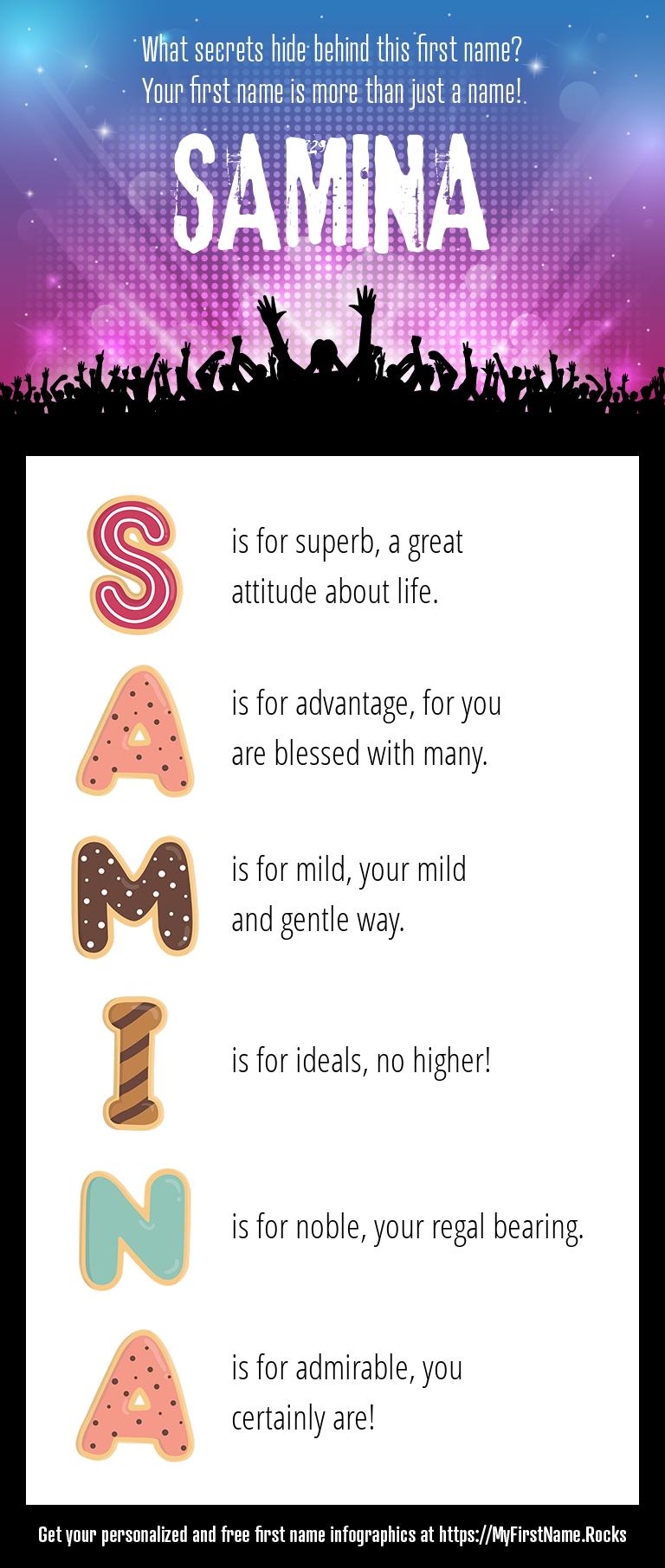 Samina Infographics