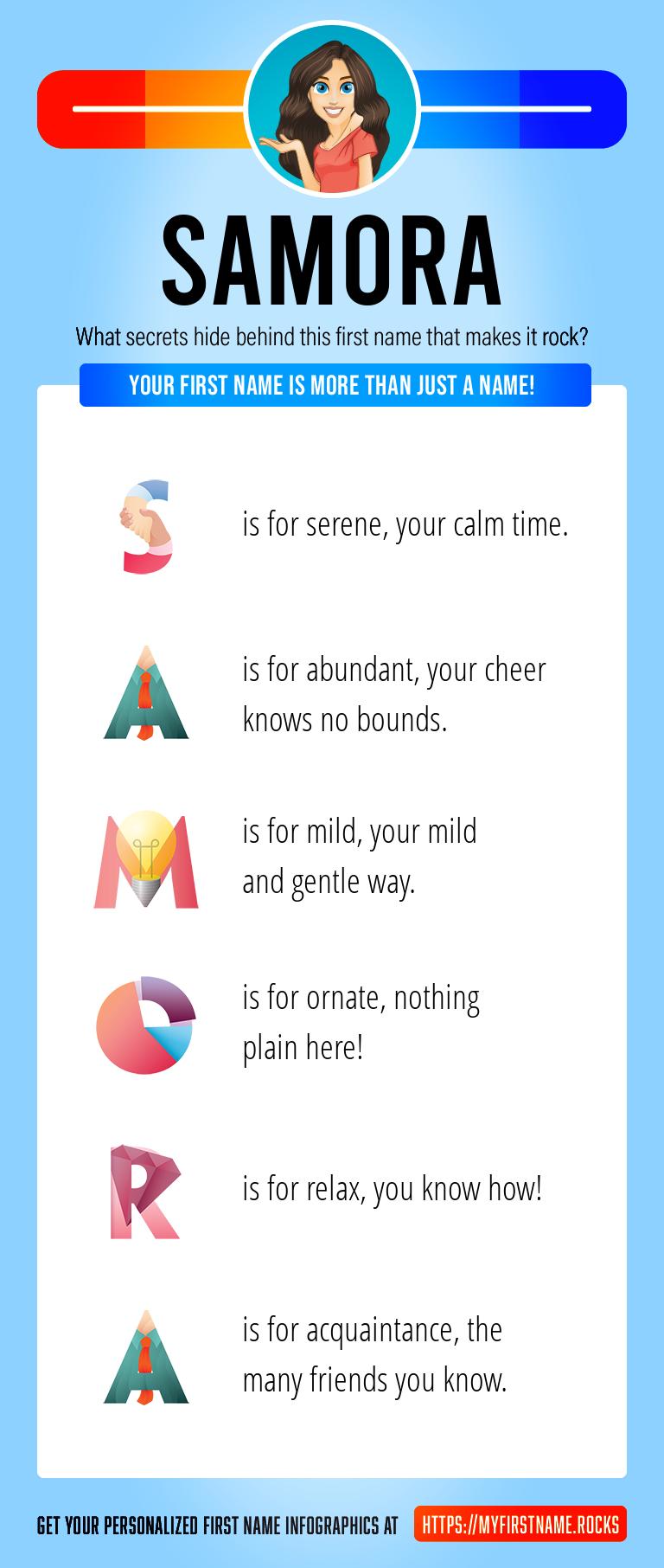 Samora Infographics