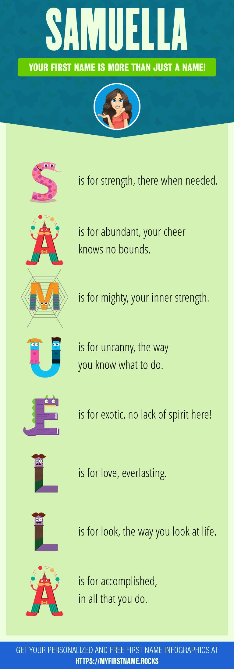 Samuella Infographics