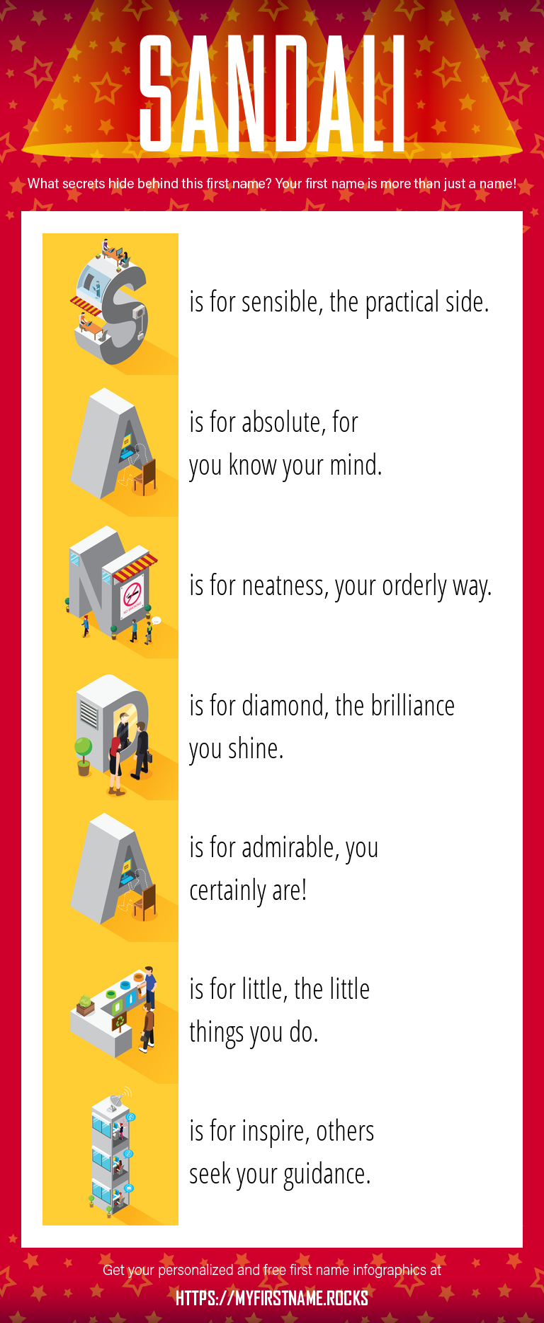 Sandali Infographics