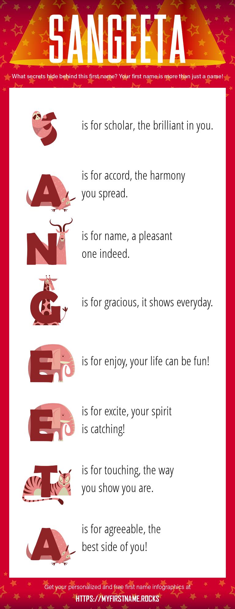 Sangeeta Infographics