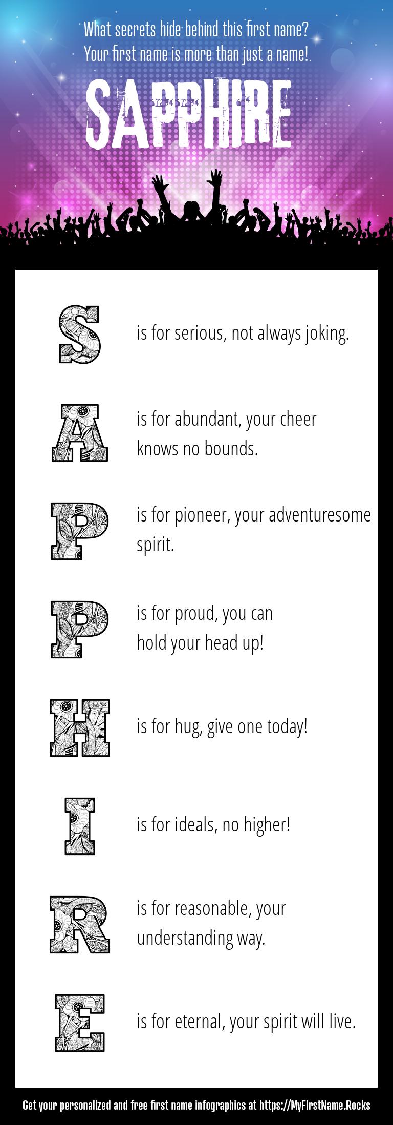 Sapphire Infographics