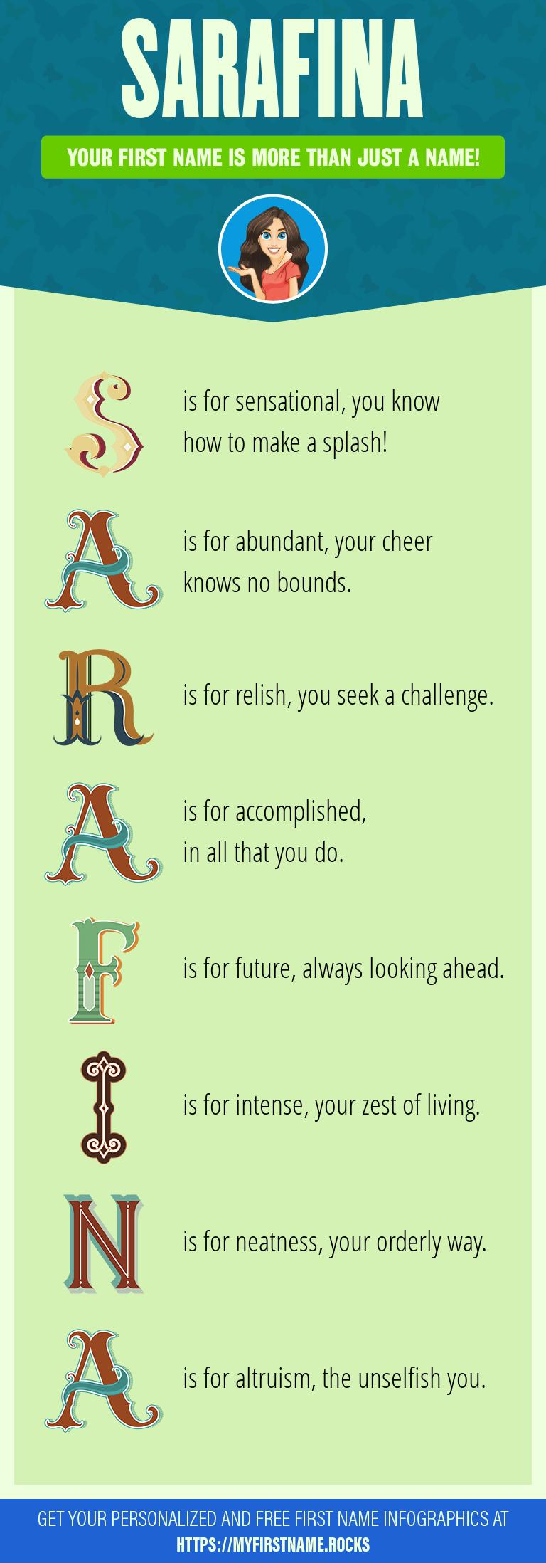 Sarafina Infographics