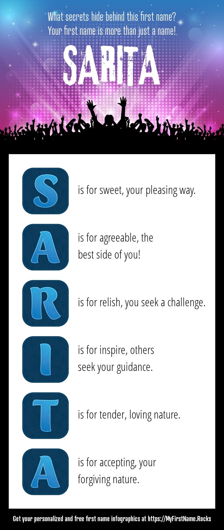 Sarita Infographics