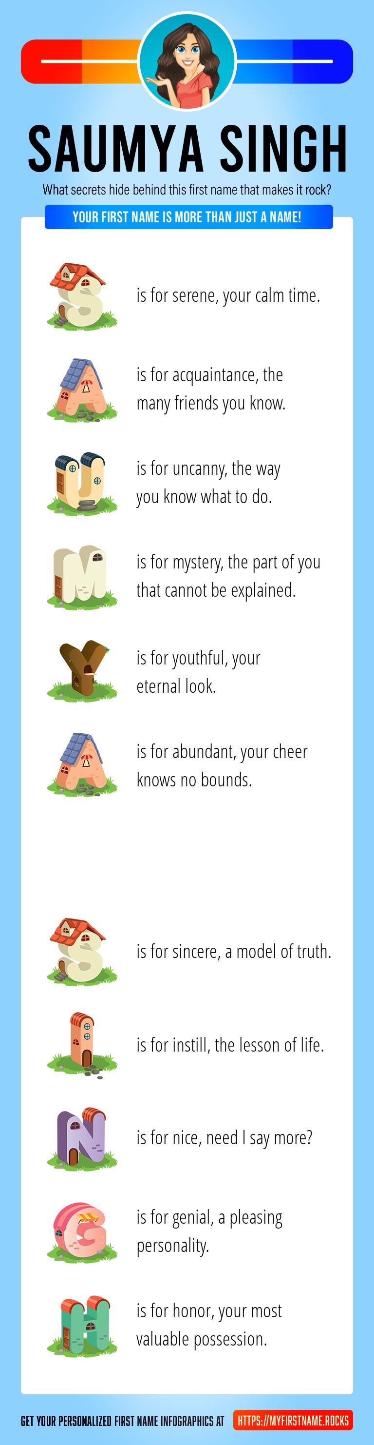 Saumya Singh Infographics