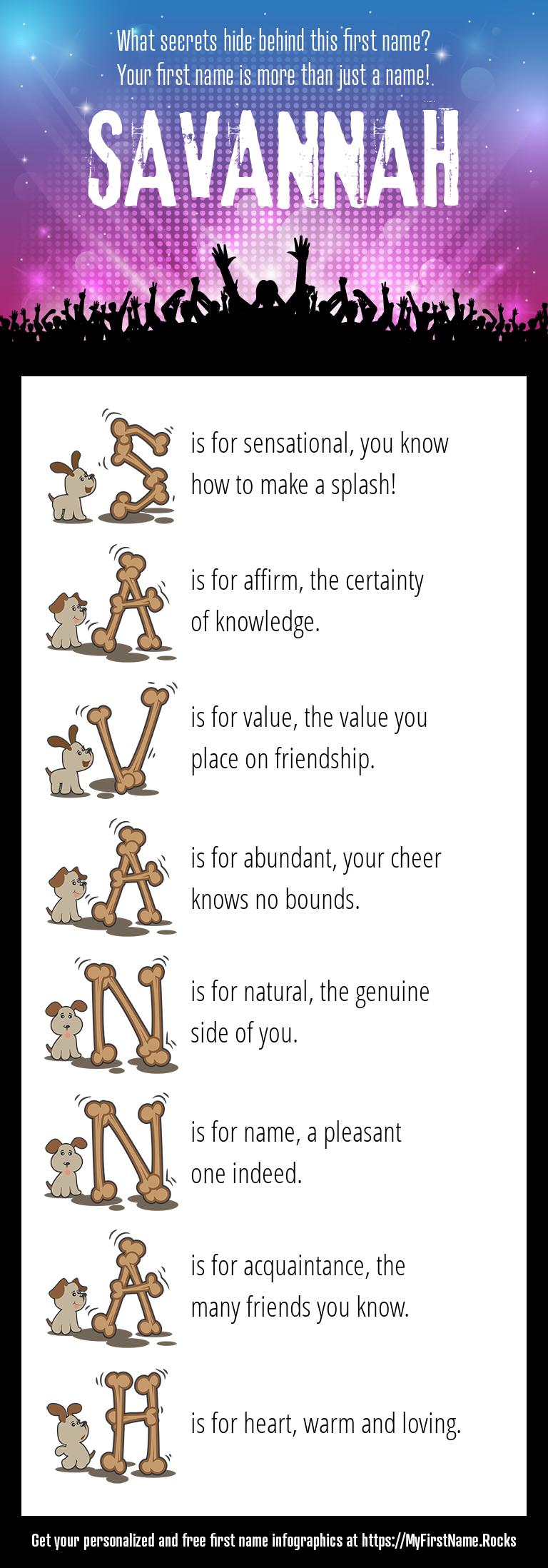 Savannah Infographics