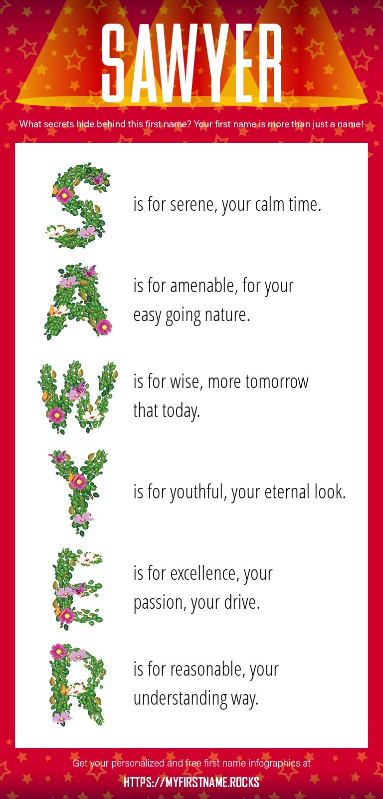 Sawyer Infographics