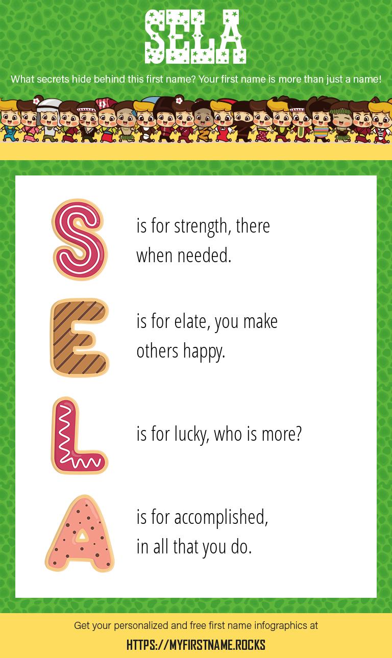 Sela Infographics