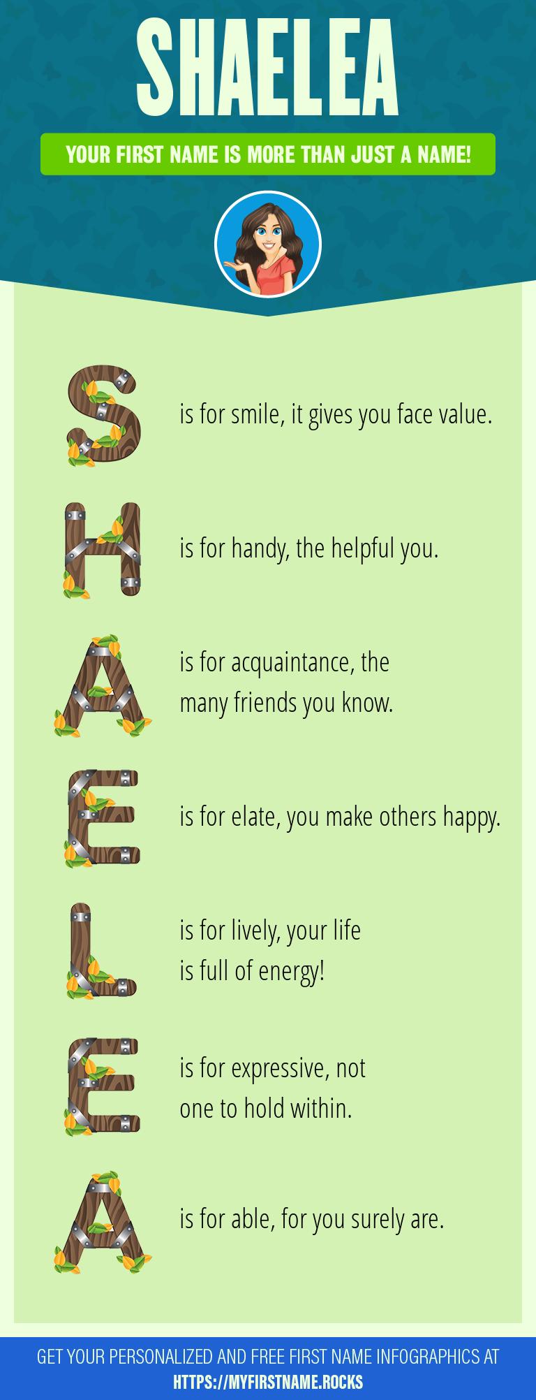 Shaelea Infographics