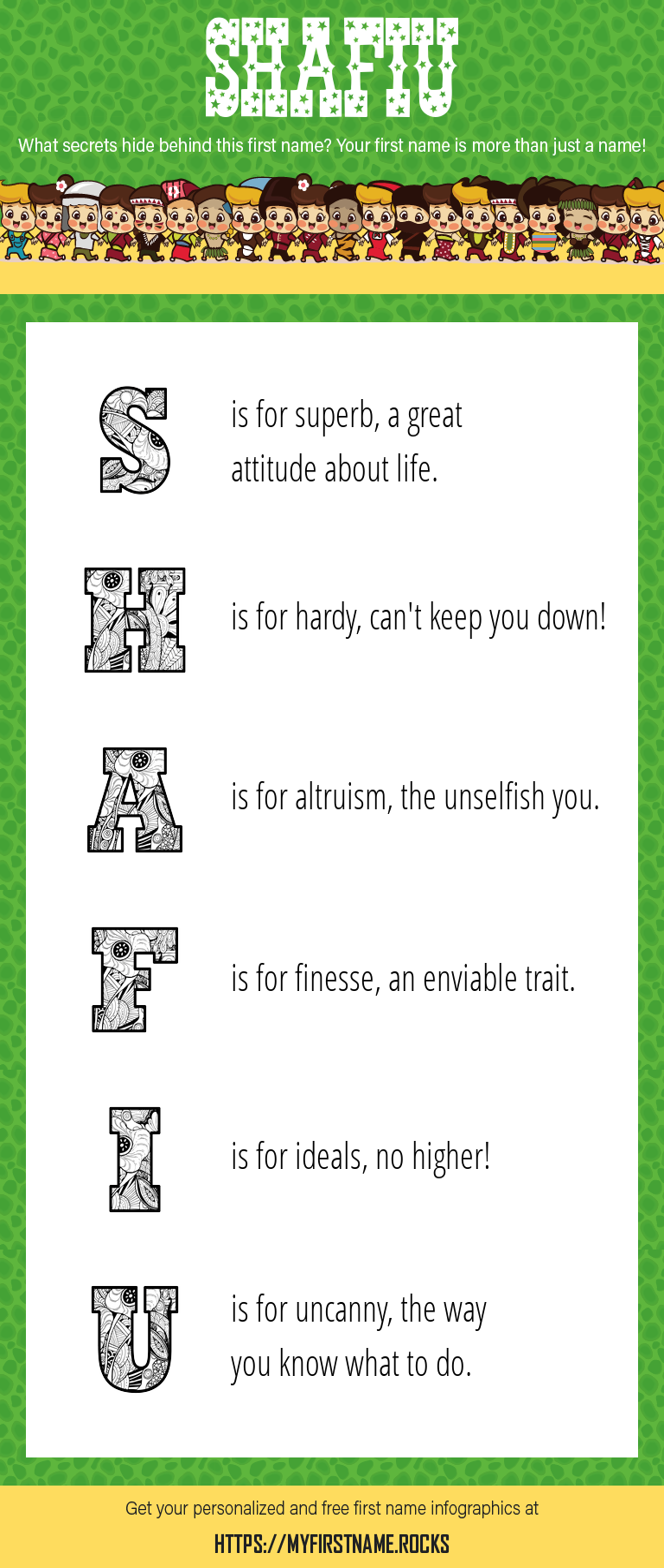Shafiu Infographics