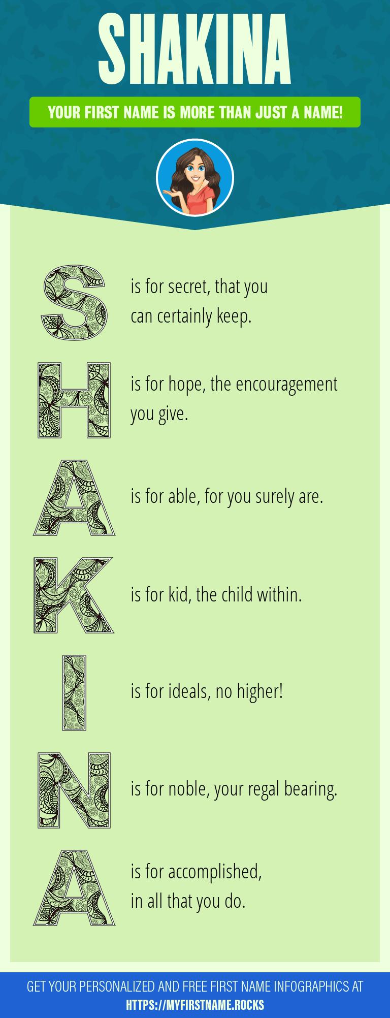 Shakina Infographics