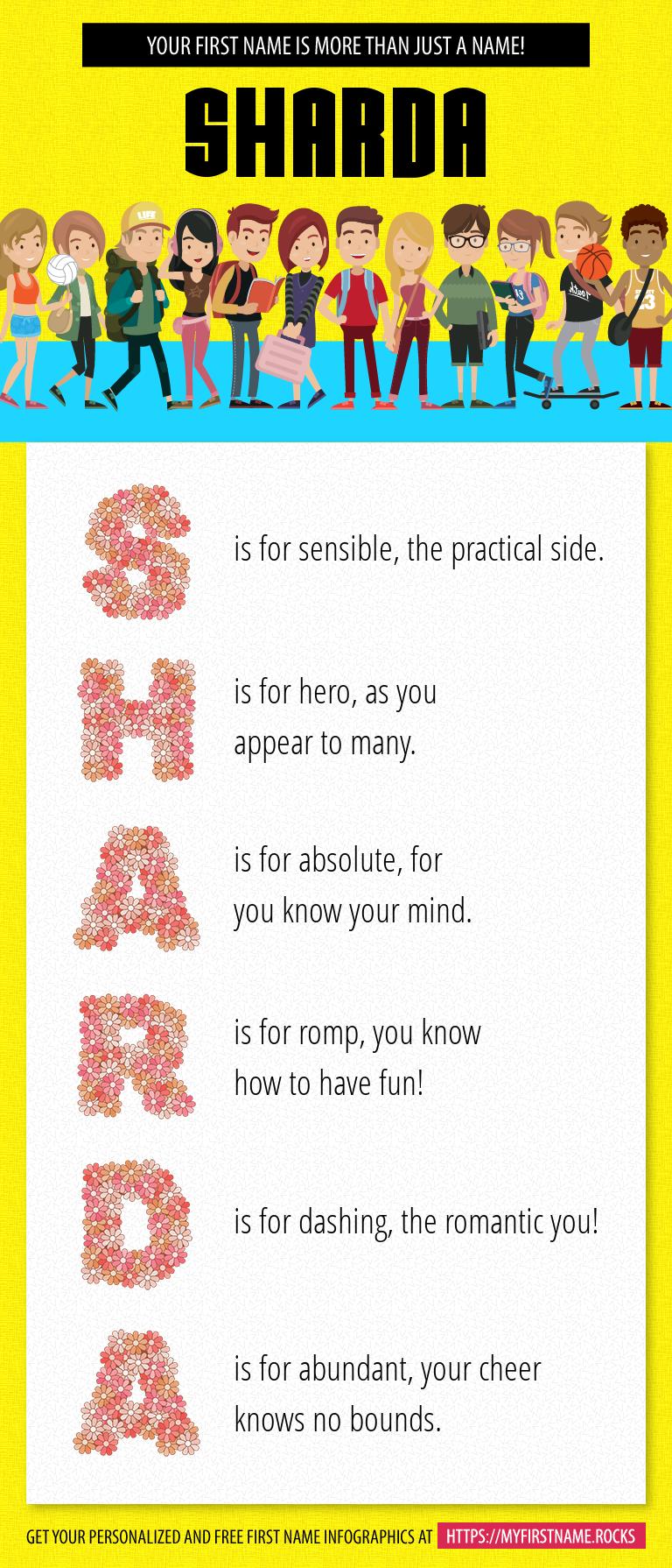 Sharda Infographics