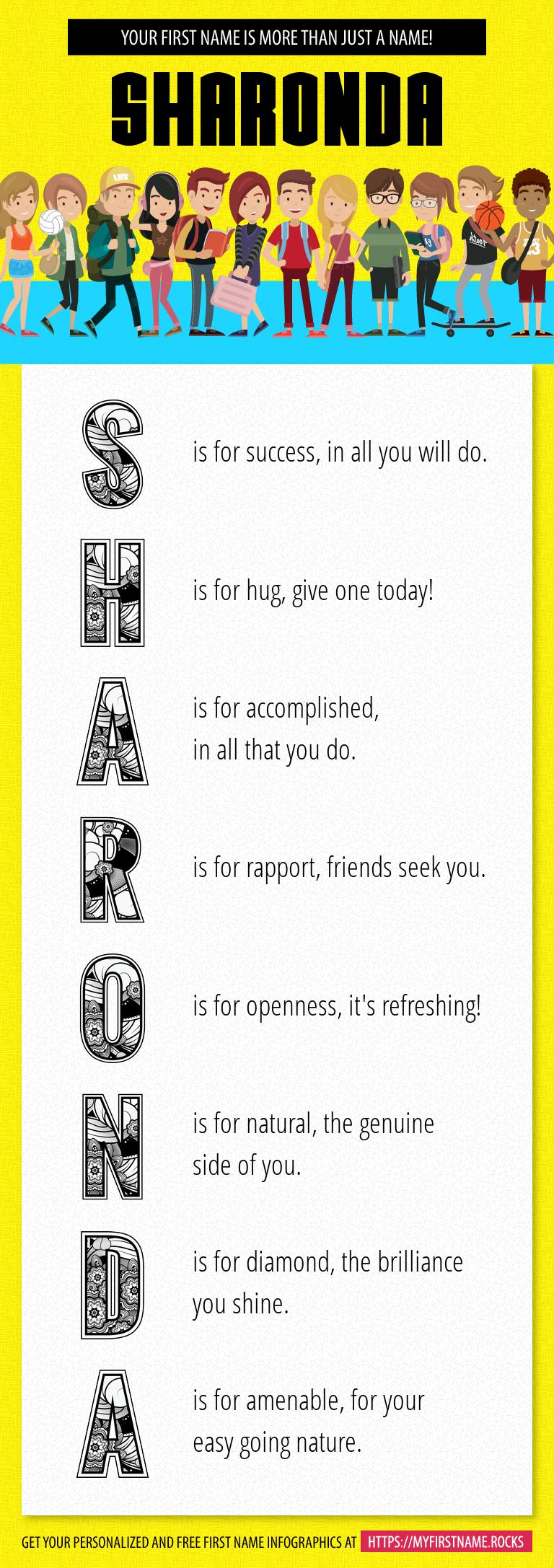 Sharonda Infographics