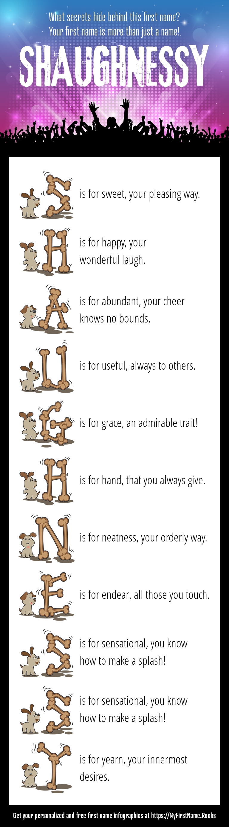 Shaughnessy Infographics