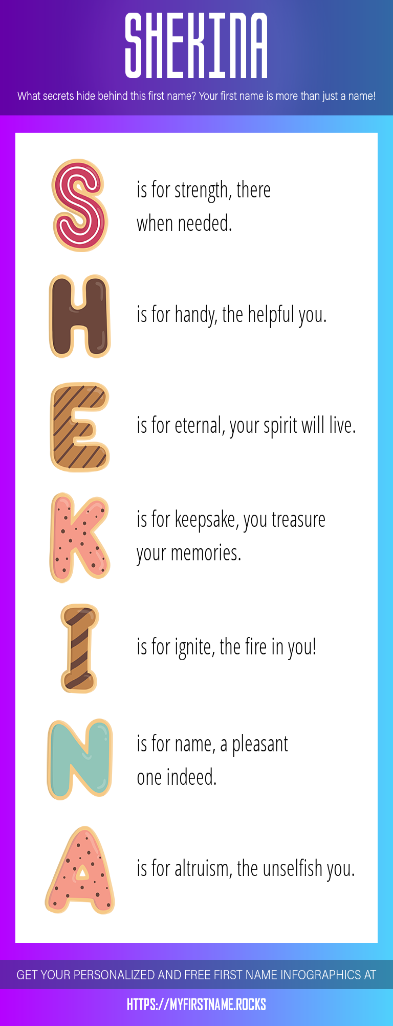 Shekina Infographics