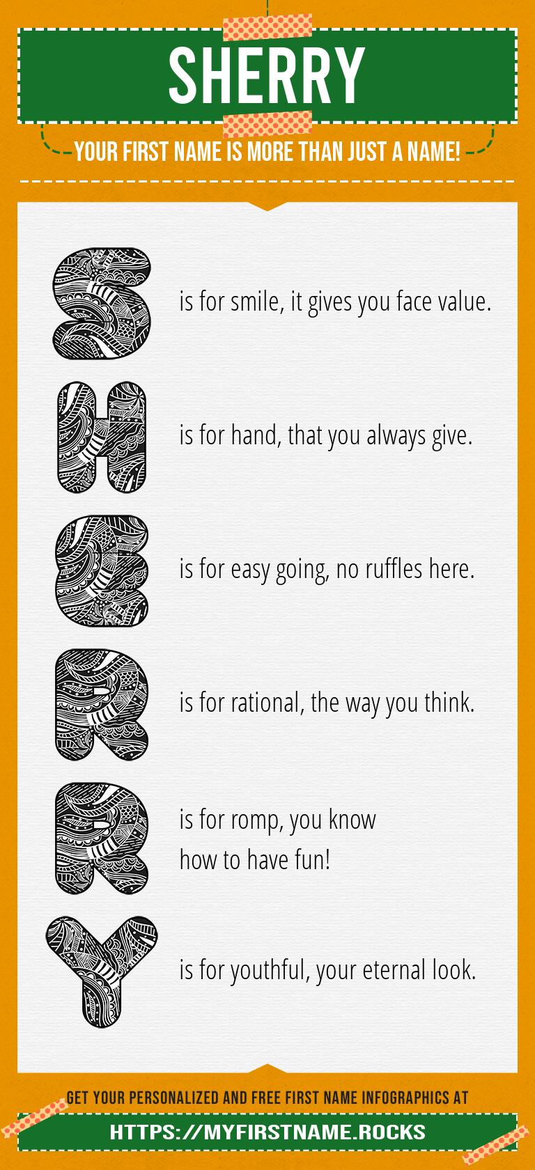 Sherry Infographics