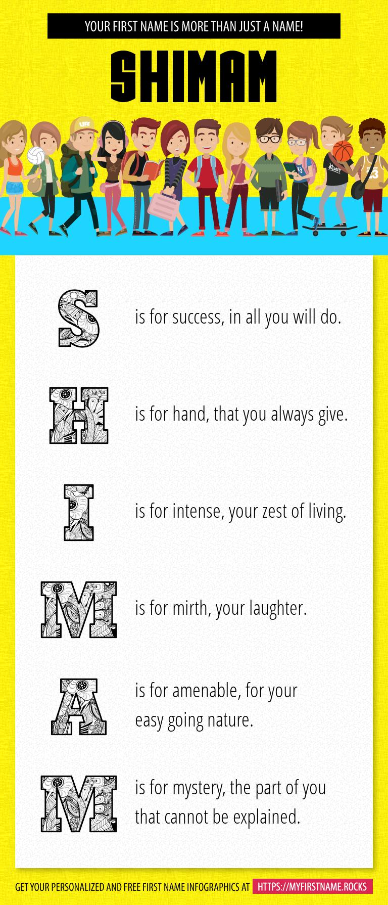 Shimam Infographics