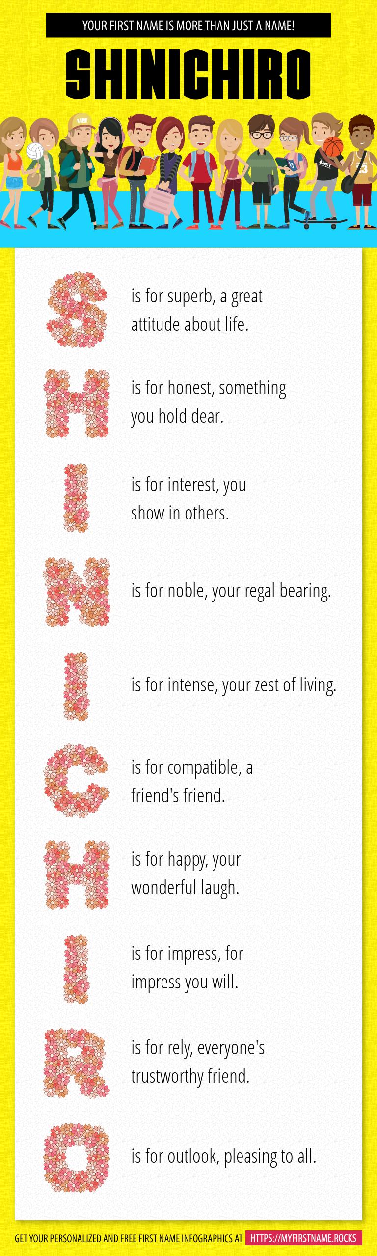 Shinichiro Infographics