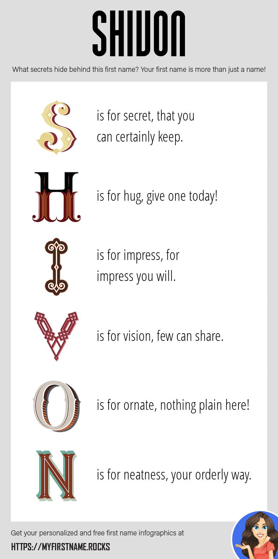 Shivon Infographics