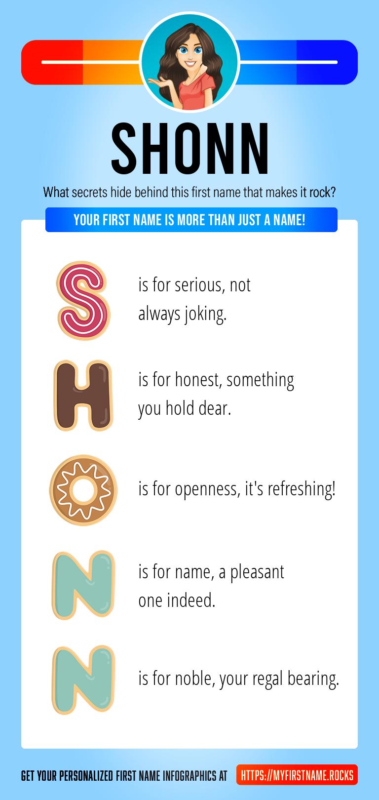 Shonn Infographics