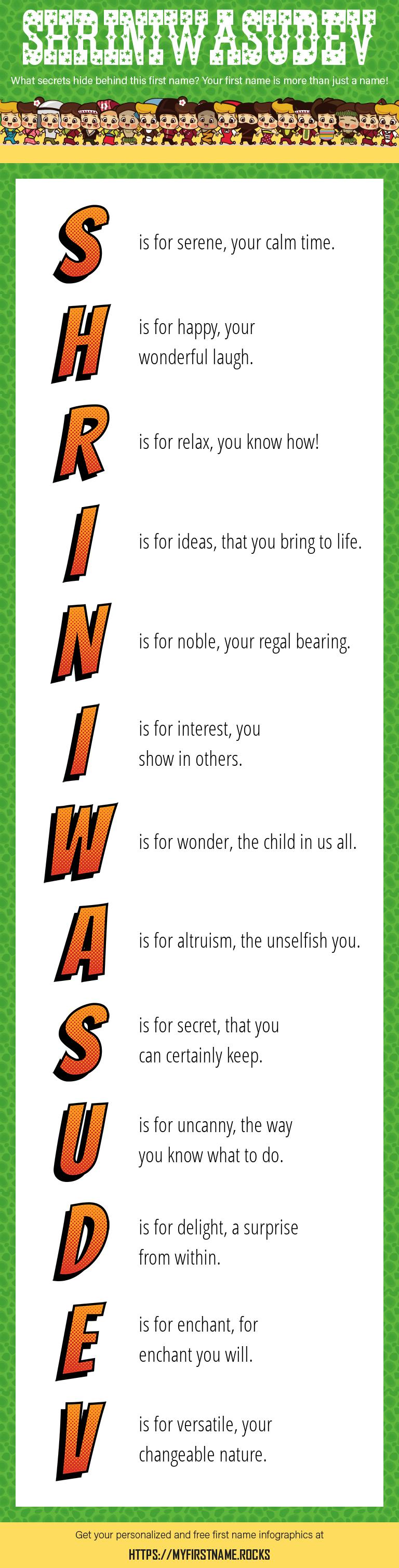 Shriniwasudev Infographics