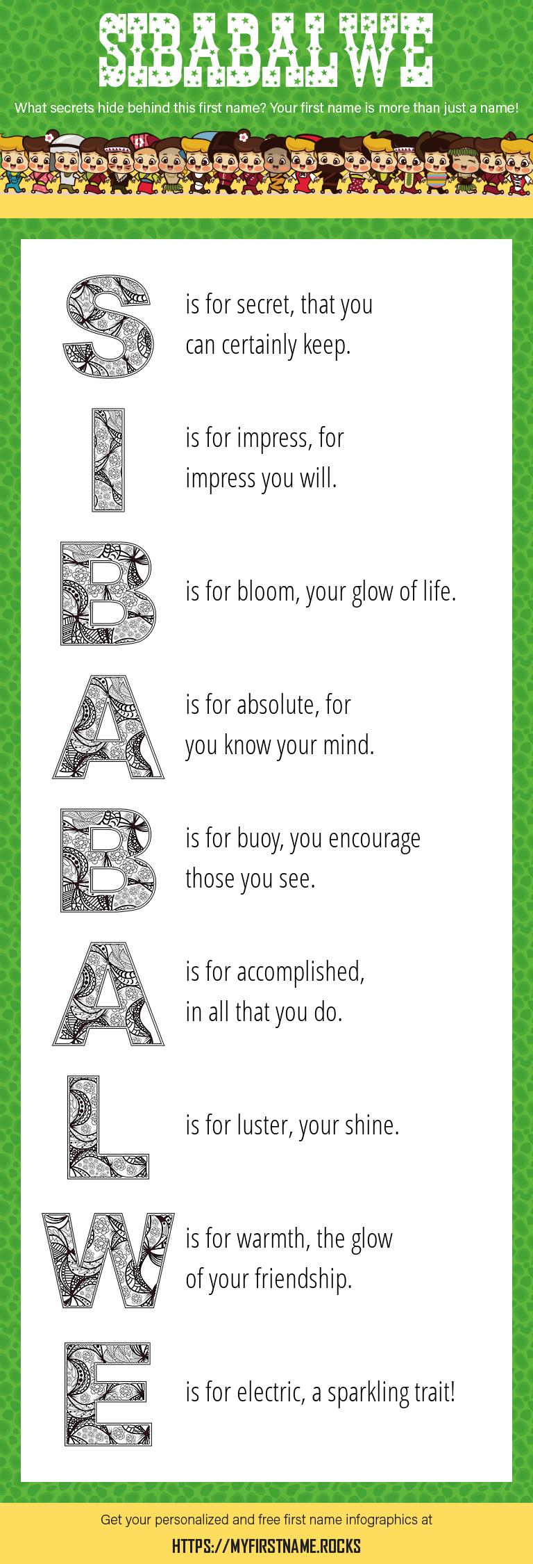 Sibabalwe Infographics