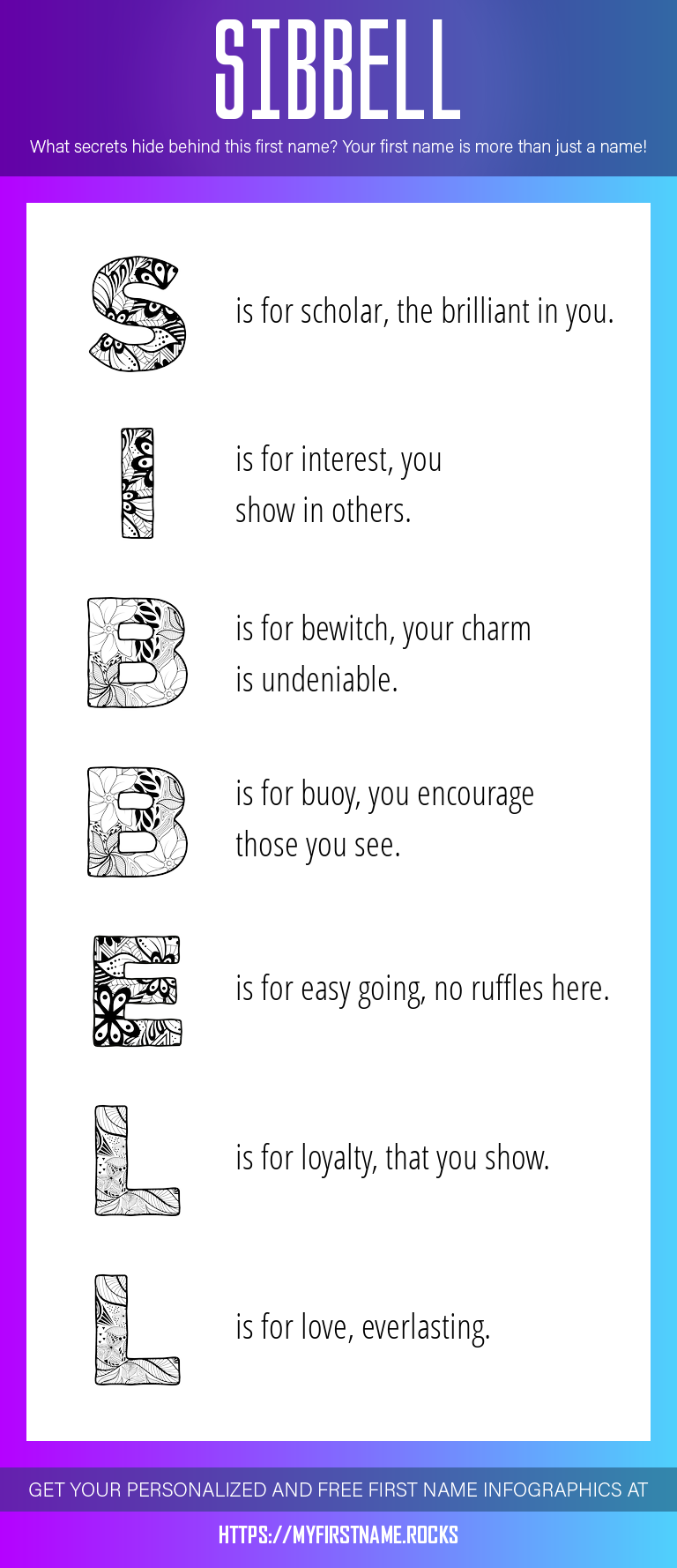 Sibbell Infographics