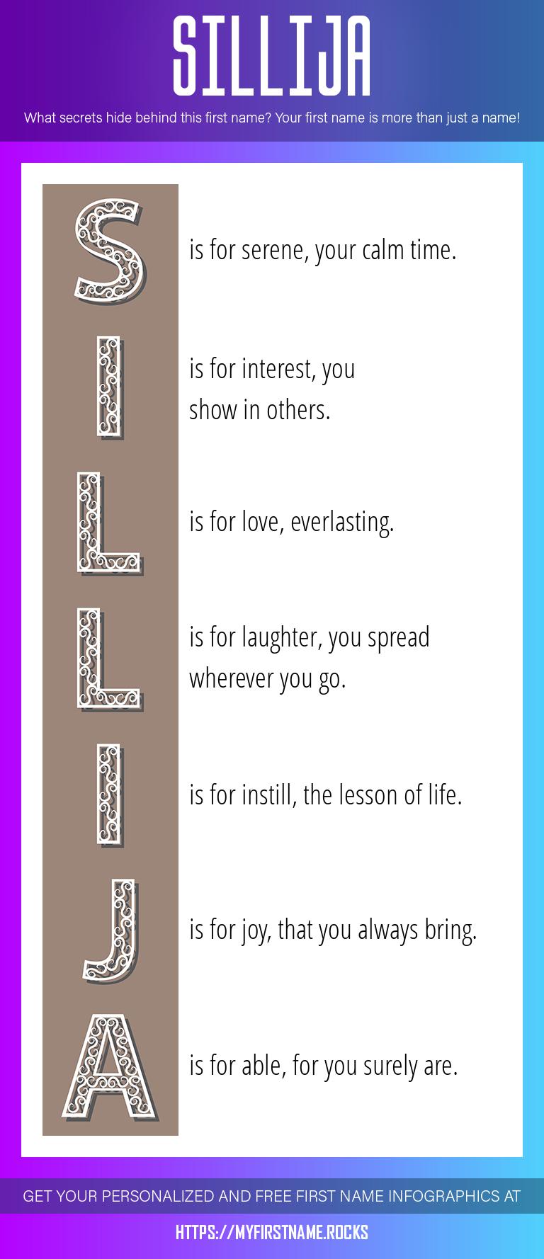 Sillija Infographics