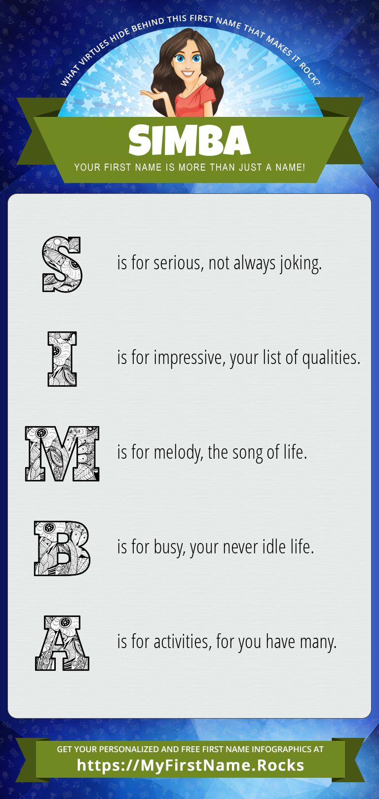 Simba Infographics