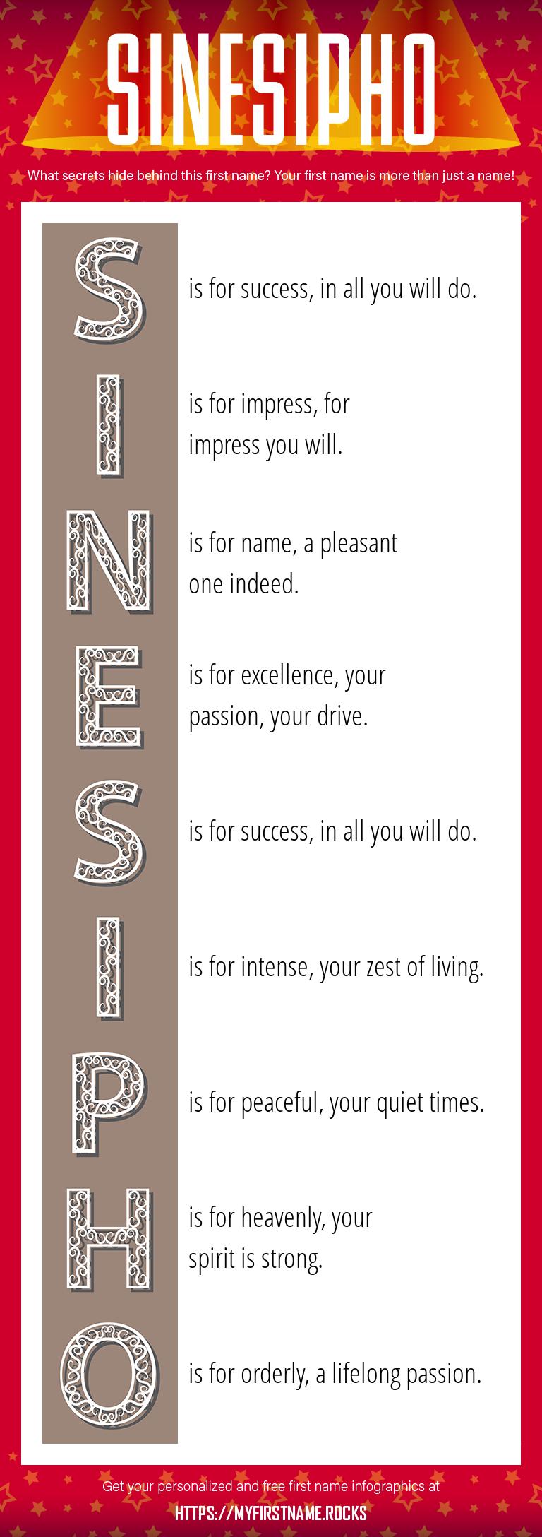 Sinesipho Infographics