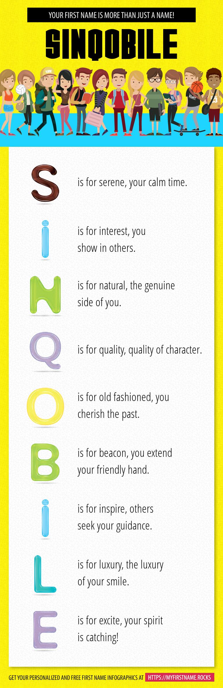 Sinqobile Infographics