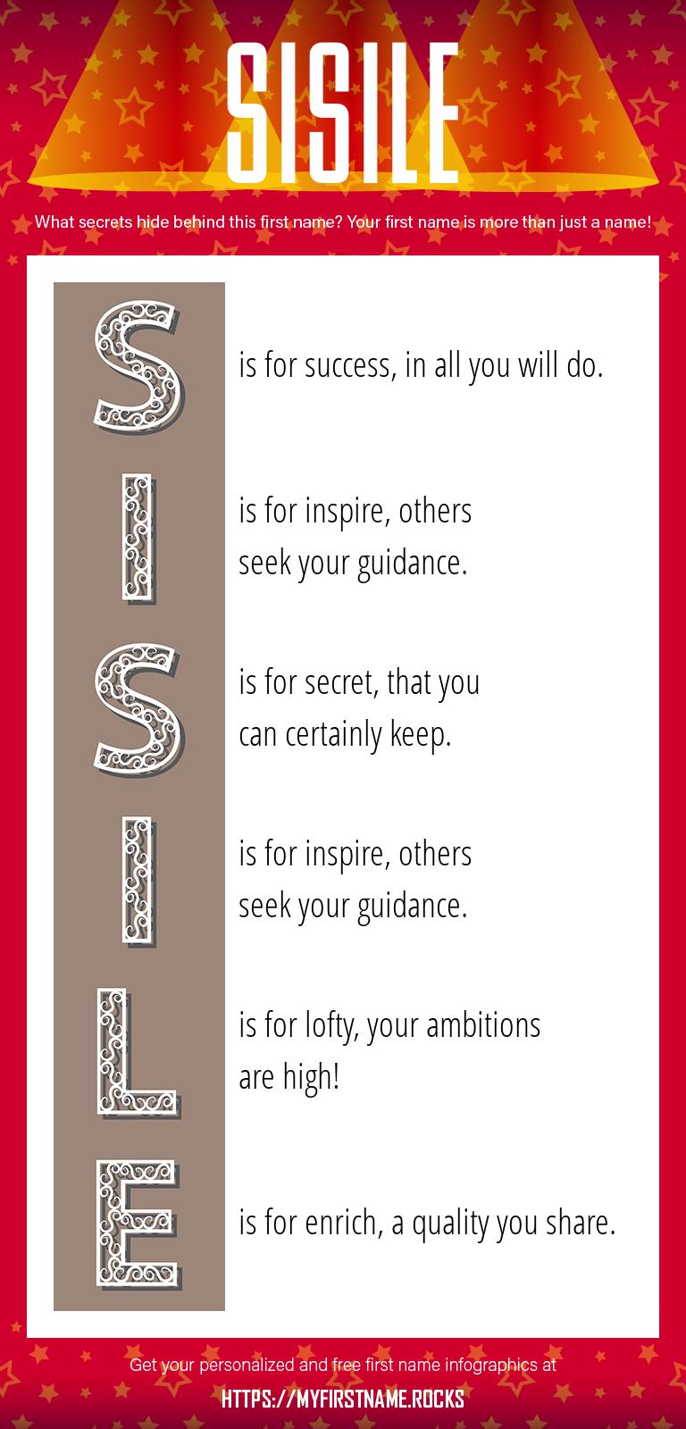 Sisile Infographics
