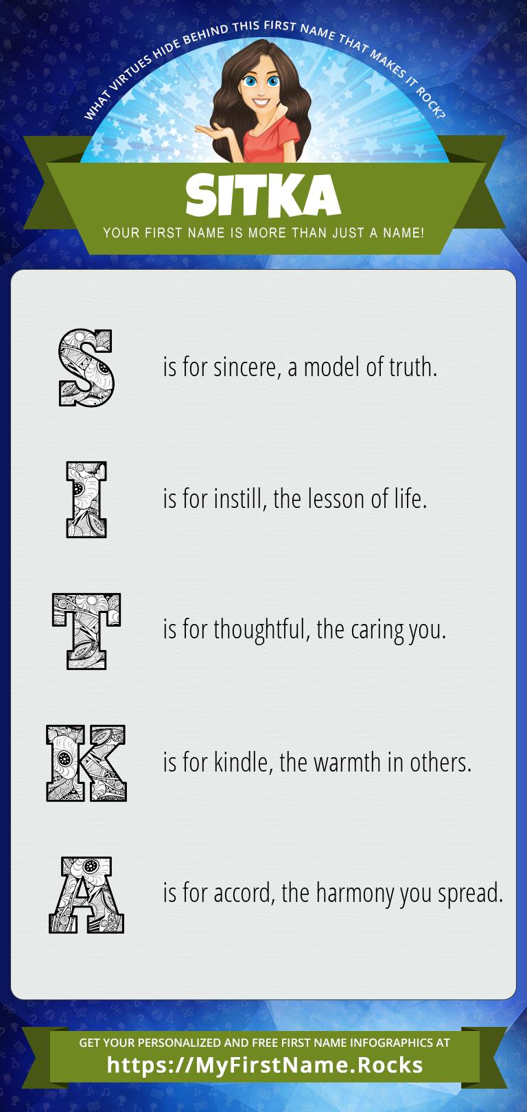 Sitka Infographics