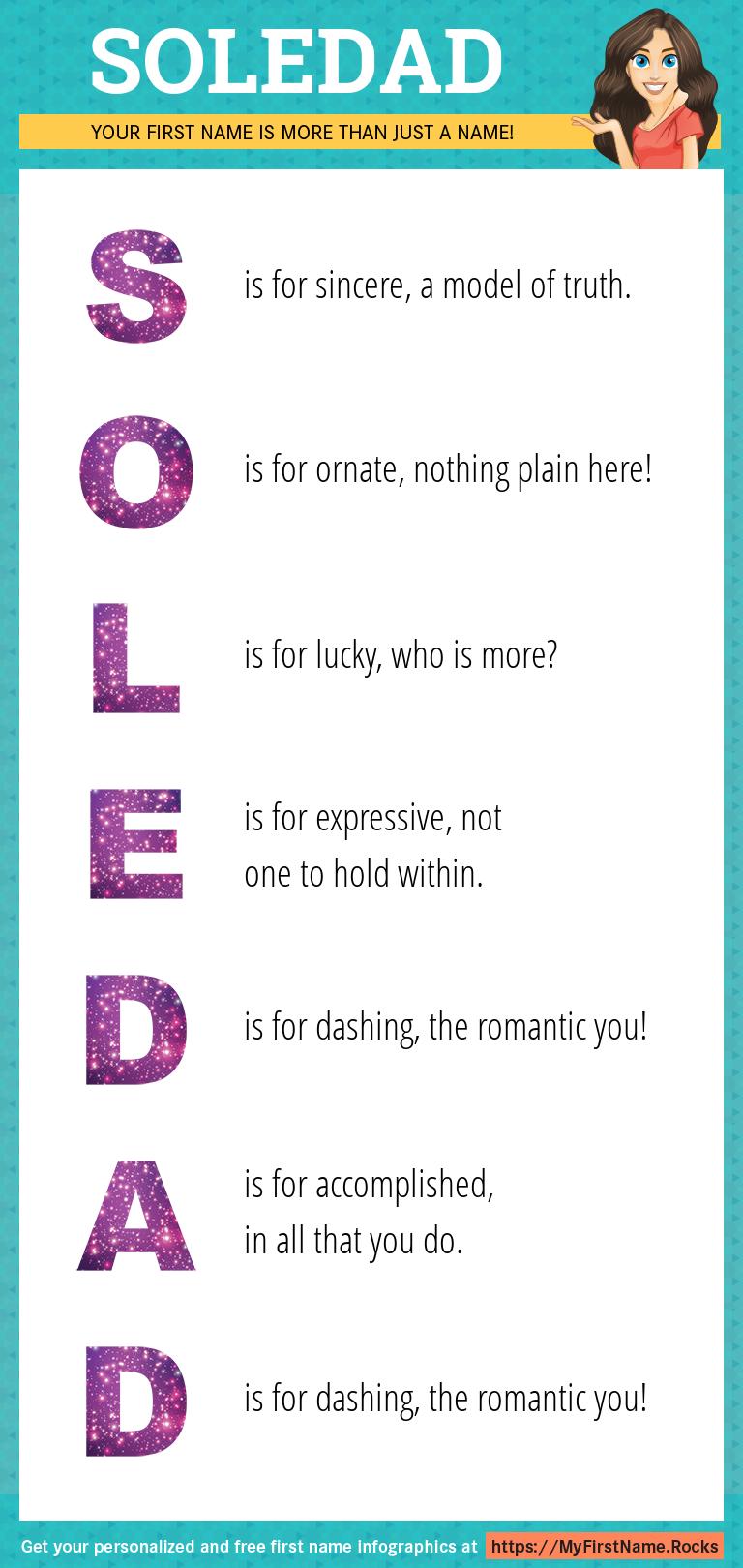 Soledad Infographics